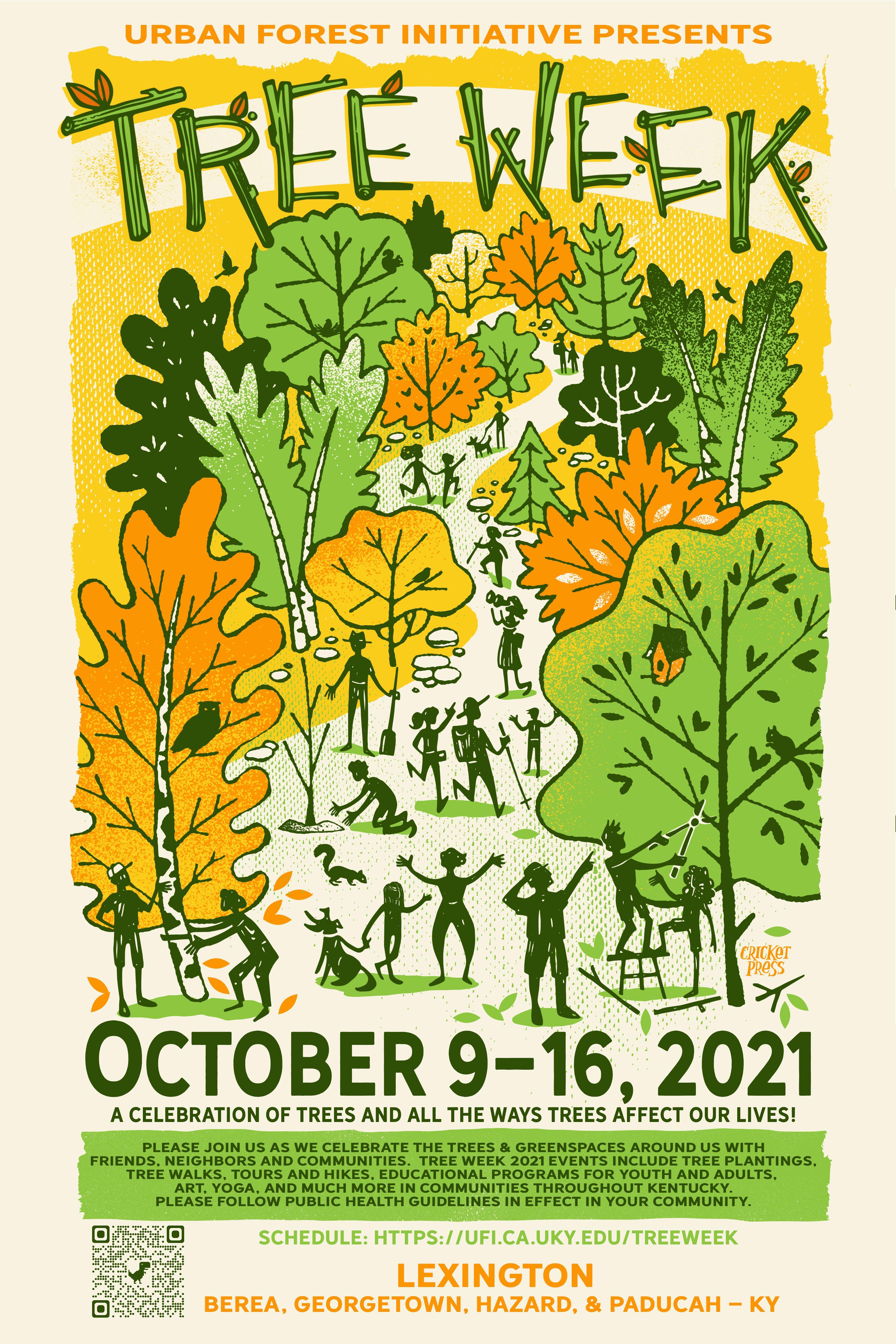 urban forest initiative tree week 2021