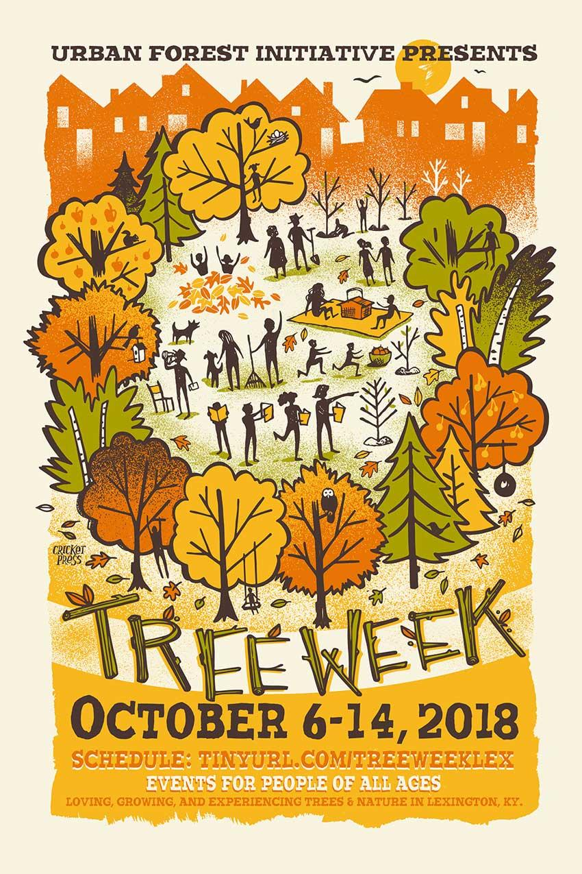 Urban Forest Initiative Tree Week 2018