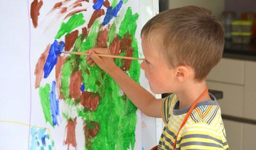 Urban Forest Initiative Tree Week Tates Creek: Art Start: Trees