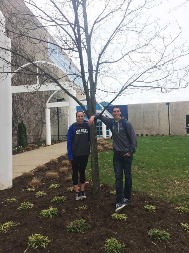 The favorite sugar maple of Josh & Olivia in March 2016
