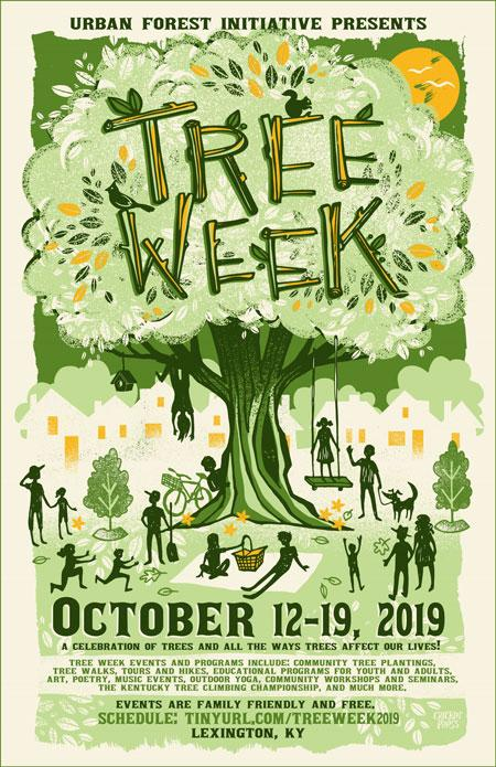 Urban Forest Initiative Tree Week 2019 Poster