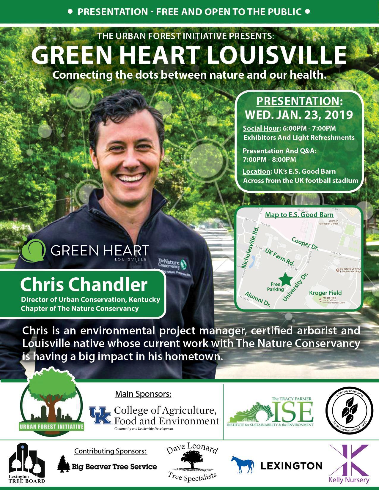 Urban Forest Initiative Seminar Green Heart Louisville