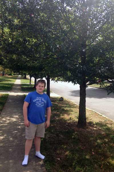 The favorite black gum of Jack in Summer 2015