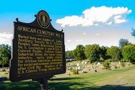 urban forest initiative tree week 2021 african cemetery