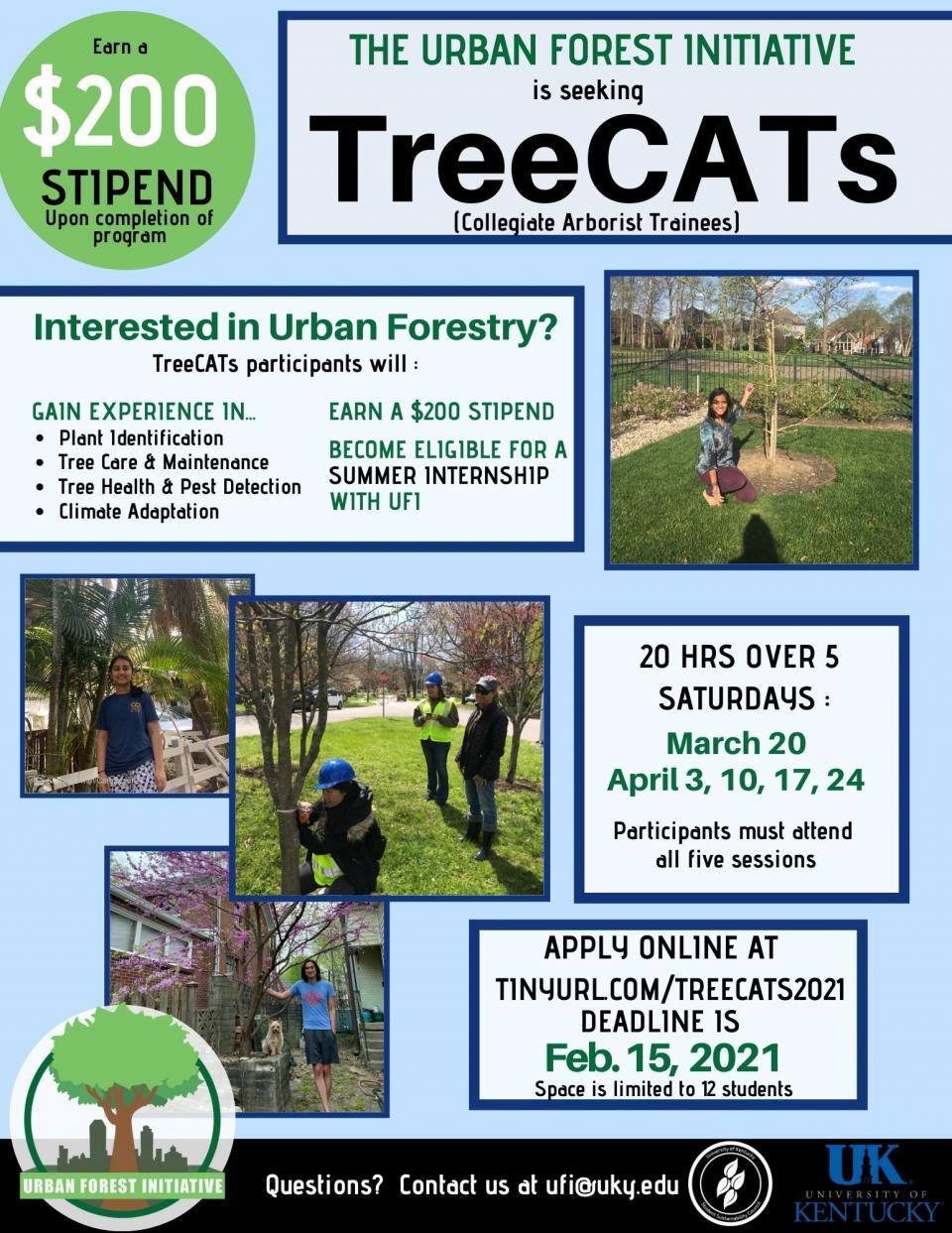 treecats 2021 flier