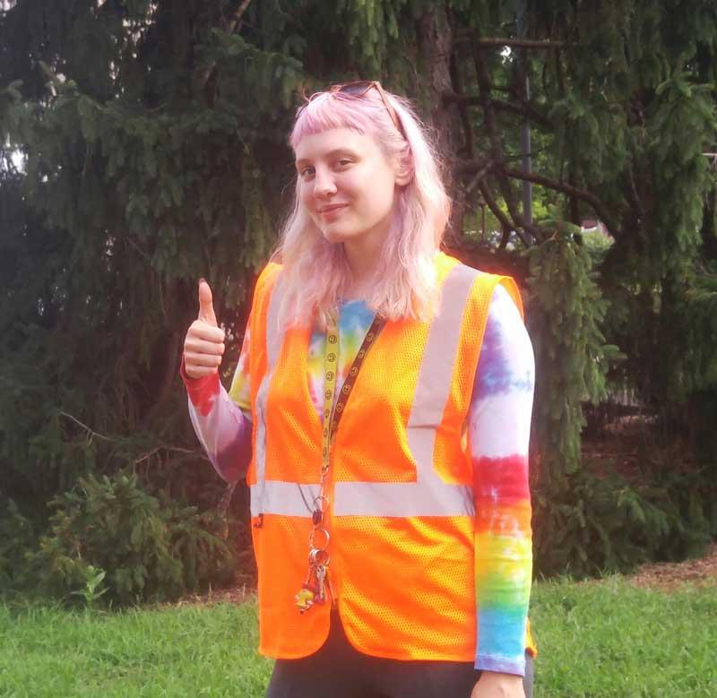 Urban Forest Initiative intern Katie Kilcoyne