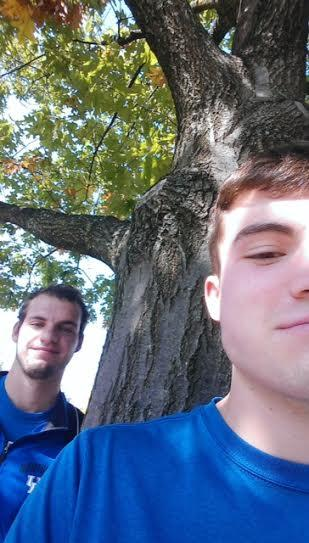 The favorite Oakof Justin Bambach, Zach Major in October 2015