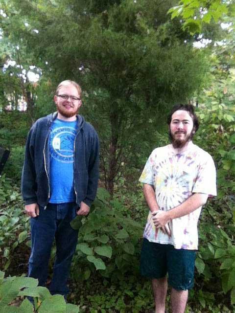 The favorite Eastern Red Cedar of William Rigney and Darren Jones in September 2015